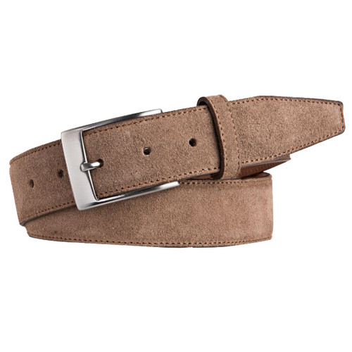 Taupe Suede Belt - Profuomo (1)